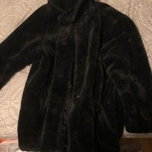 Jackets & Blazers - Oversized fur coat